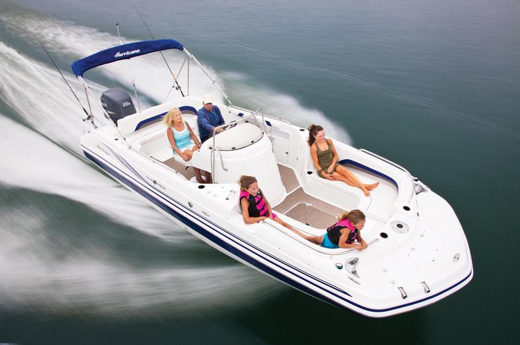 ⭐️ 24' HURRICANE DECK BOAT 225HP - FD231 CENTER CONSOLE MODEL (ST. PETERSBURG) *INSURANCE INCLUDED*