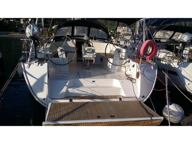 Sail the beautiful waters of Lefkada on this cozy Bavaria Yachtbau Bavaria 46 Cruiser_2015