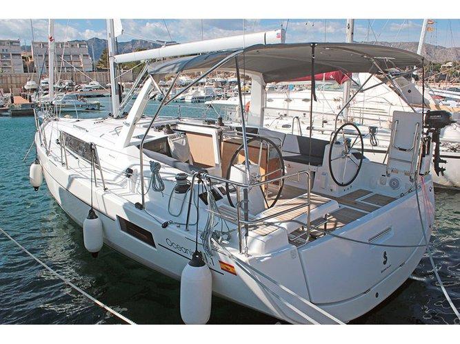 Barcelona, ES sailing at its best
