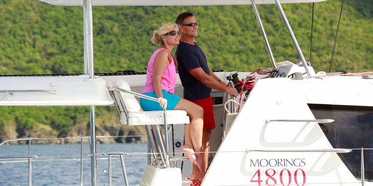 Boating is fun with a Catamaran in St. Georges