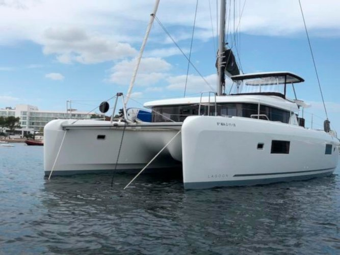 Explore Ibiza - Sant Antoni de Portmany on this beautiful sailboat for rent