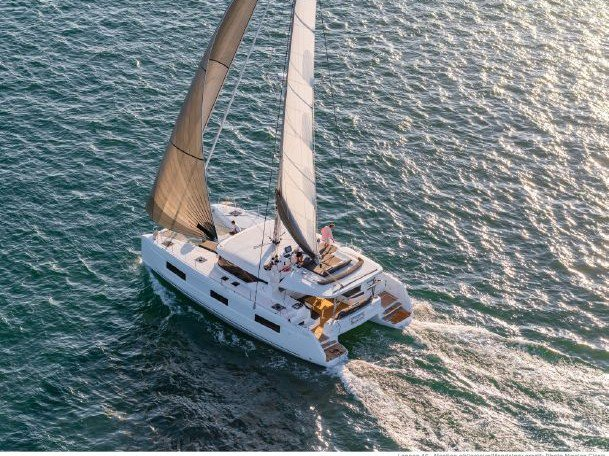 All you need to do is relax and have fun aboard the Lagoon Lagoon 46 Fly