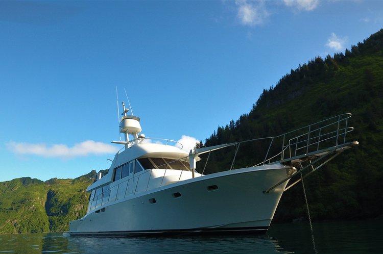 Multi-Day Adventure  Yacht Charter  Seward Alaska