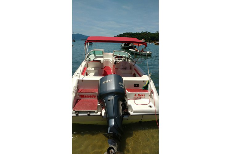 Motor boat boat for rent in Angra dos Reis