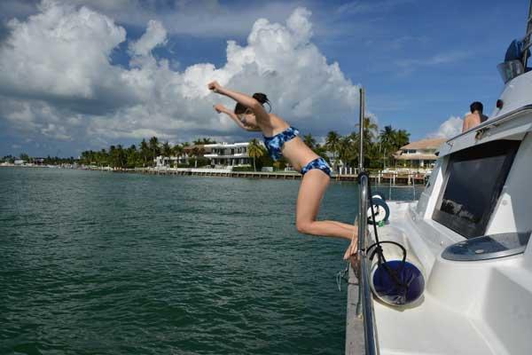 Catamaran boat rental in Rickenbaker Marina, FL