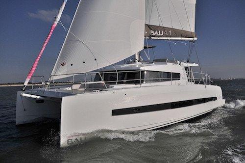 Hop aboard this amazing Bali 4.1 sail boat rental in  Australia