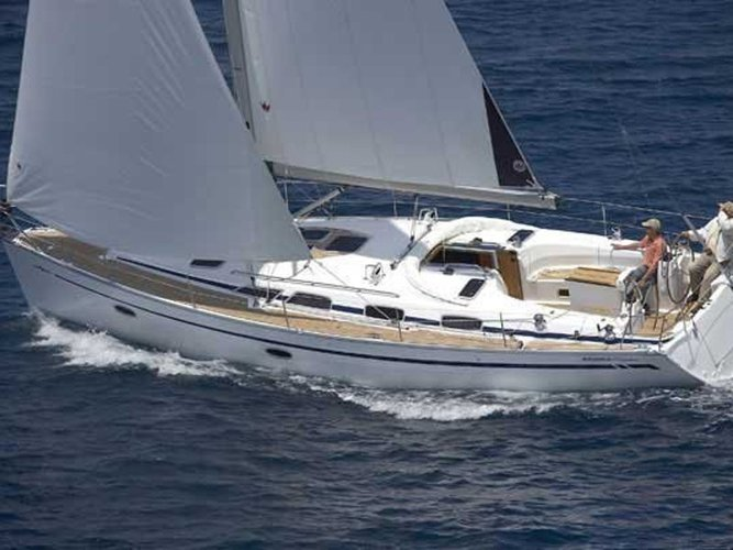 Get on the water and enjoy Paros in style on our Bavaria Yachtbau Bavaria 40 Cruiser