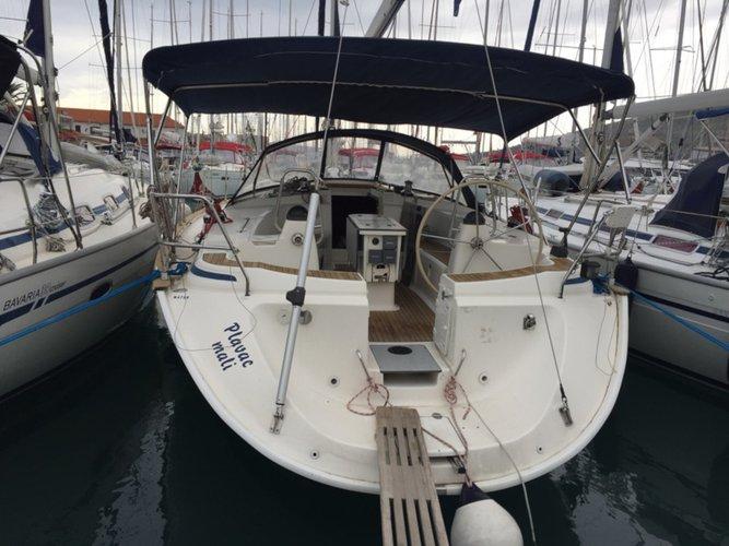 Enjoy Trogir, HR to the fullest on our comfortable Bavaria Yachtbau Bavaria 44