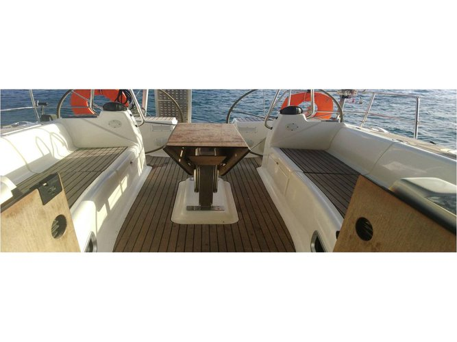 This sailboat charter is perfect to enjoy Paros