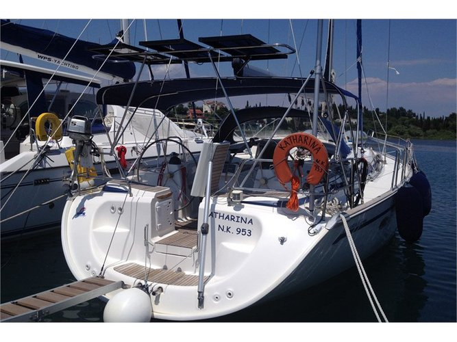 Get on the water and enjoy Corfu in style on our Bavaria Yachtbau Bavaria 46 C