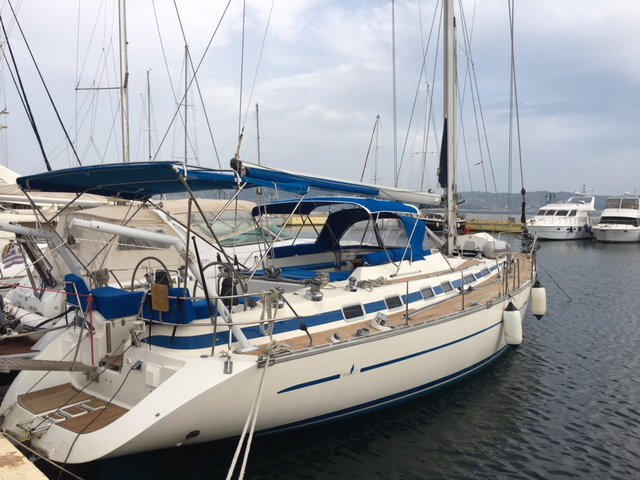 Discover Achillio in style boating on this sailboat rental