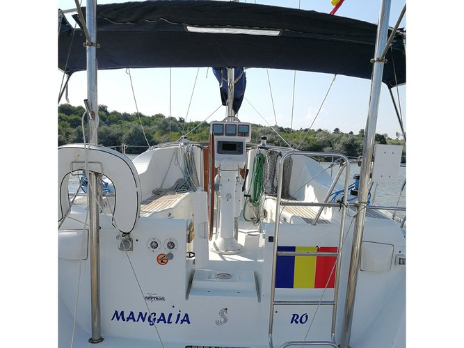 Experience Limanu, Judetul Constanta, RO on board this amazing Dufour Yachts Dufour 412