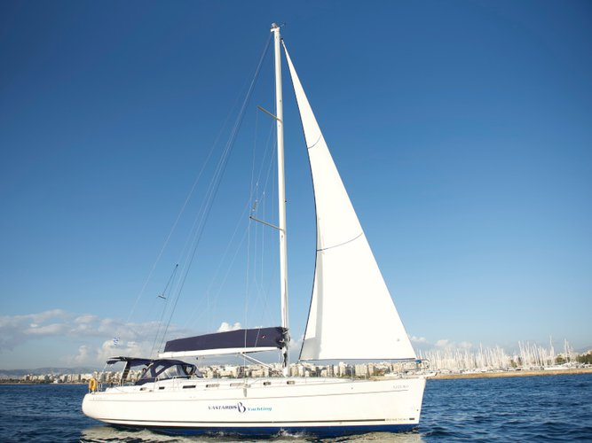 Enjoy Lavrion, GR to the fullest on our comfortable Beneteau Cyclades 50.5