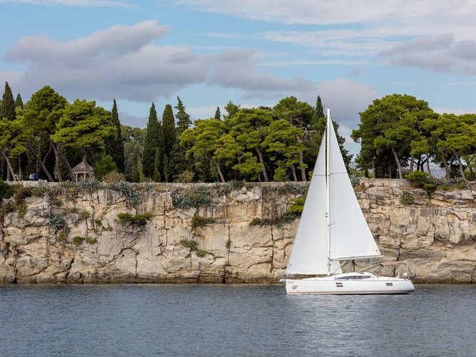 Hop aboard this amazing sailboat rental in Split!