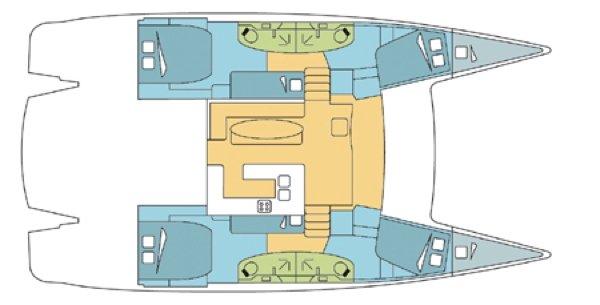 Discover Nassau surroundings on this 48 Salina boat