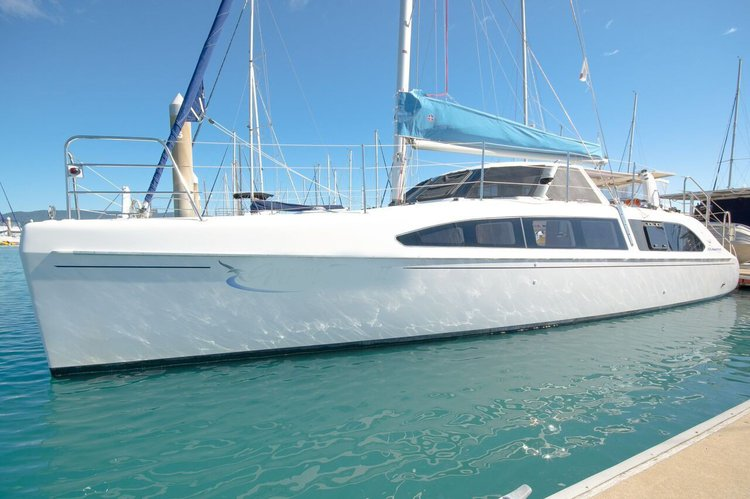 Fun in Sun of Whitsundays aboard this lovely Catamaran