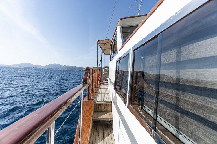 Gulet boat rental in Bodrum, Turkey