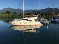 Grab this great deal to charter this amazing Ferretti 50 in Brazil!