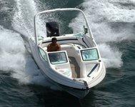 Speedboat fun in Brazil