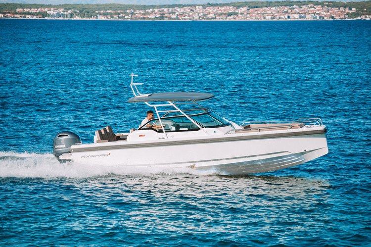 Axopar 24 T-Top 200 hp (New Boat) in Zadar