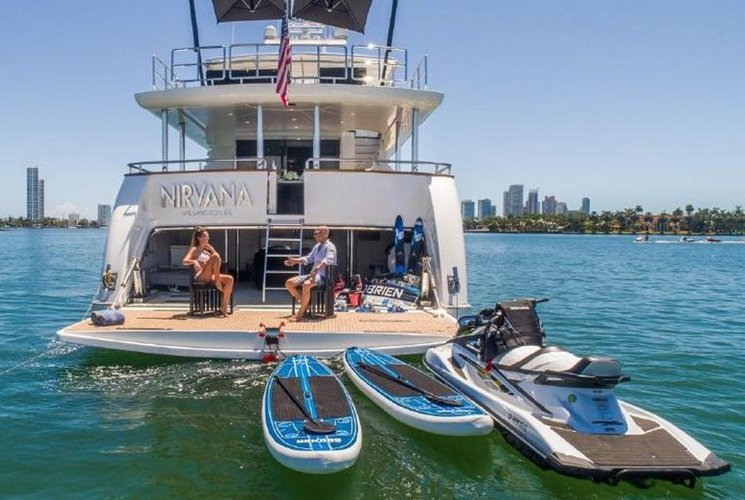 Rent a Luxury Yachting Experience! 110' Horizon