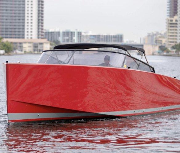 Deck boat boat for rent in North Miami Beach