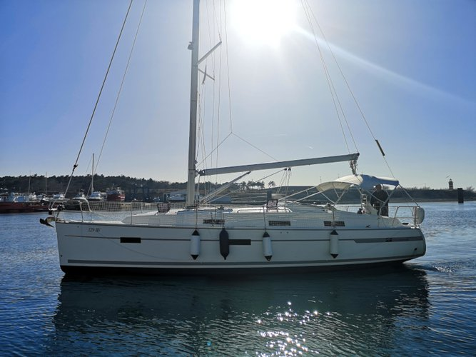Explore Kraljevica on this beautiful sailboat for rent