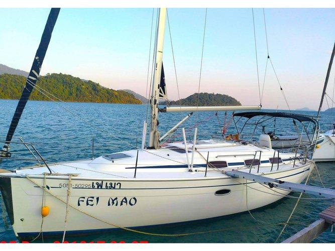 Rent this Bavaria Yachtbau Bavaria 33 for a true nautical adventure
