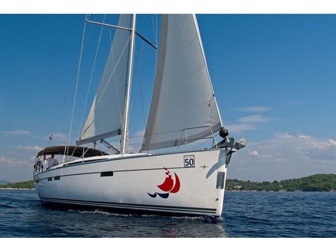 Get on the water and enjoy Murter in style on our Bavaria Yachtbau Bavaria 46 CN