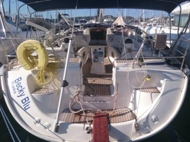 Hop aboard this amazing sailboat rental in Primošten!