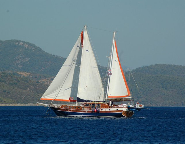 Charter this amazing gulet for a true sailing adventure
