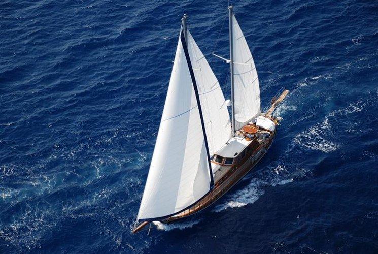 Set sail aboard this luxurious gulet