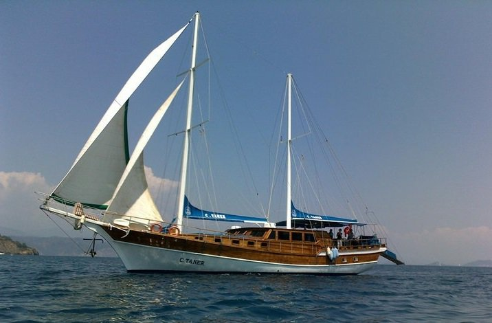 Get on the water to enjoy Tureky in style aboard this amazing gulet