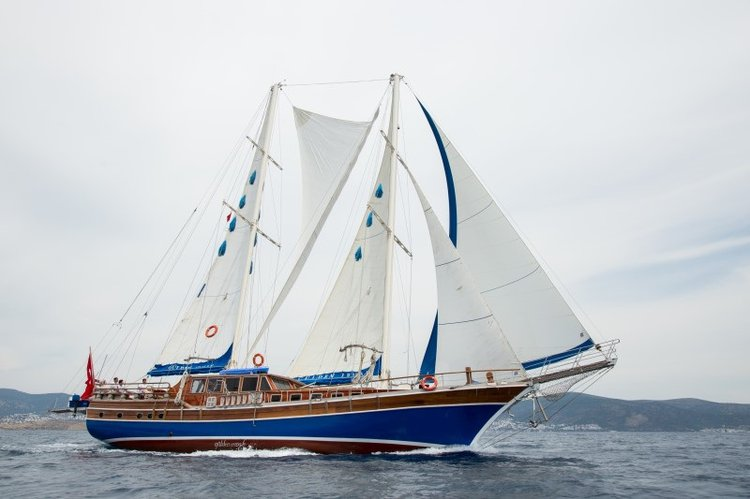 Experience Turkish Coast on board this amazing 85 ft gulet