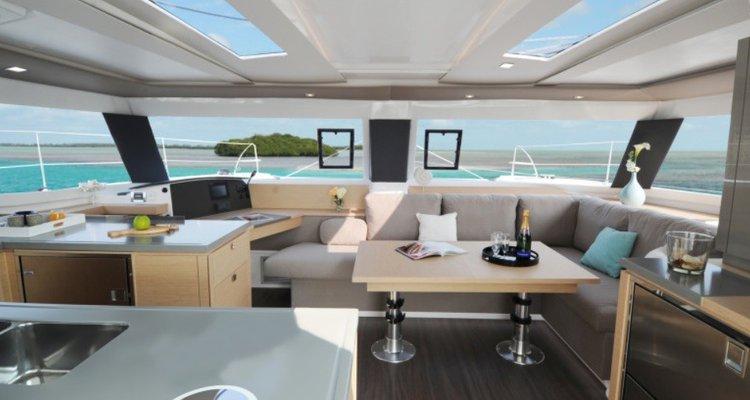Boat for rent Helia 46.0 feet in Palm Cay Marina, Bahamas