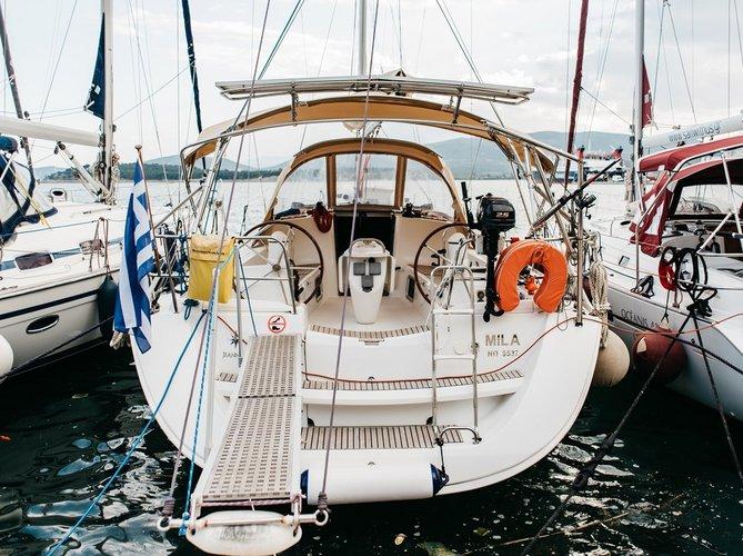 Sail Volos, GR waters on a beautiful Jeanneau Sun Odyssey 42 i Performance