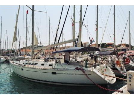 Enjoy luxury and comfort on this Vodice sailboat charter