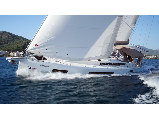 Relax on board our sailboat charter in Marmaris