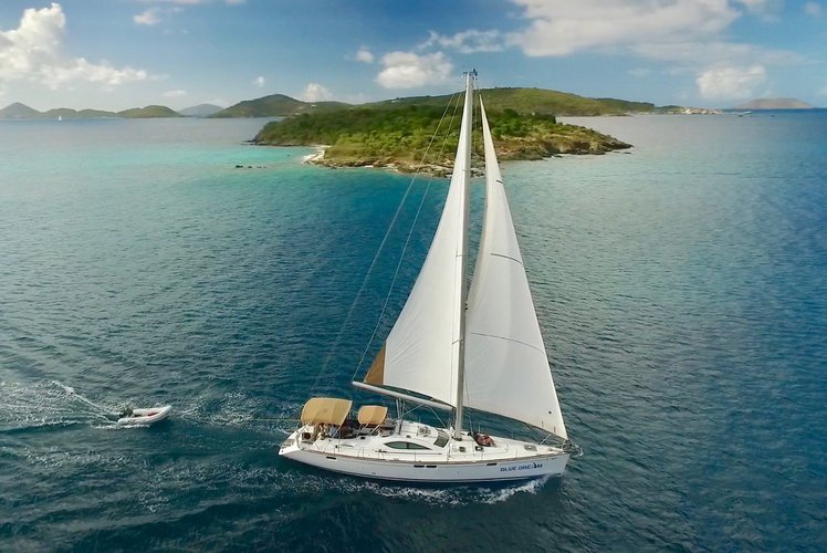 Explore the Virgin Islands in Luxury aboard our newly renovated 54' sailing yacht.