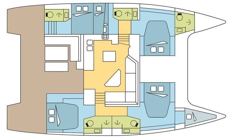 Discover Nassau surroundings on this 47 Saona boat