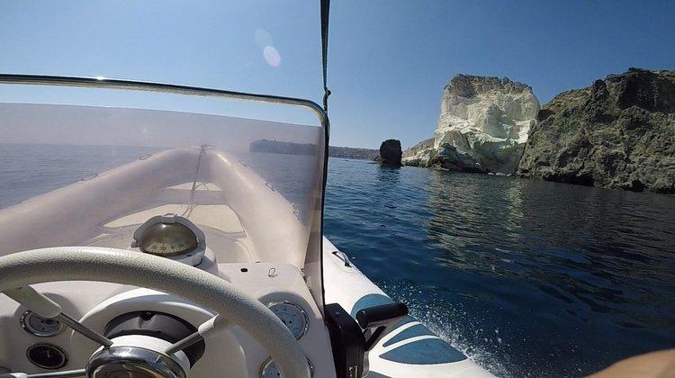 Nautica's 19.0 feet in Santorini - Vlichada