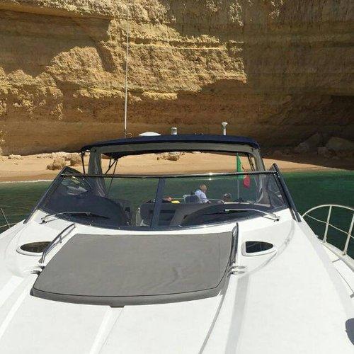 Motor yacht boat rental in Marina de Vilamoura, Portugal