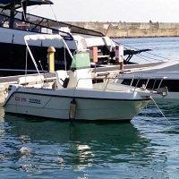 Fish and ski boat rental in Leuca, Italy