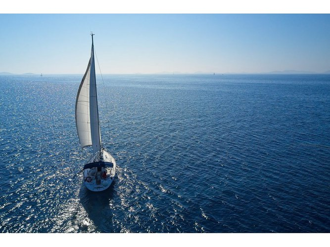 The best way to experience Murter is by sailing