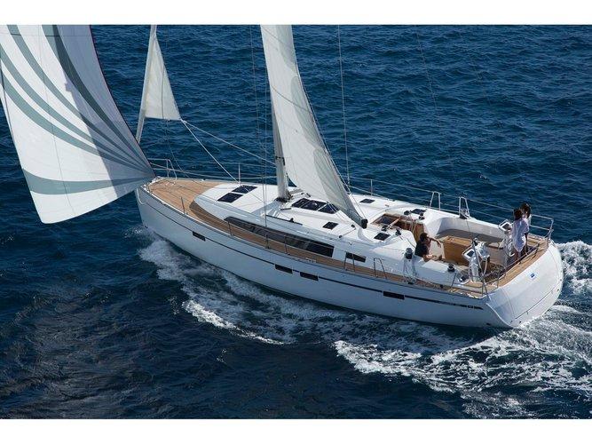 Enjoy luxury and comfort on this Sukošan sailboat charter