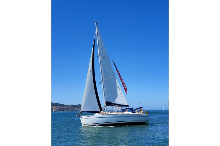 Sail the waters of Lisbon in this beauty