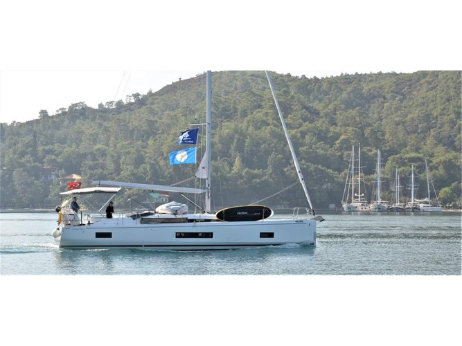 Enjoy Fethiye, TR to the fullest on our comfortable Beneteau Oceanis 46.1