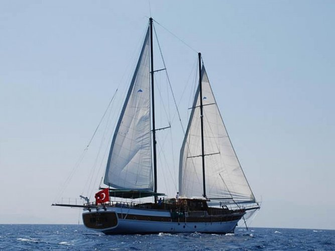 Take this awesome sail boat for a spin!