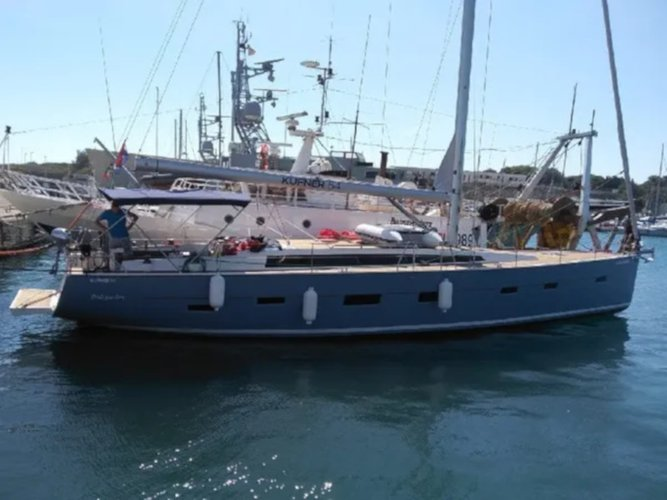 Climb aboard this D&D Yachts D&D Kufner 54.2 for an unforgettable experience