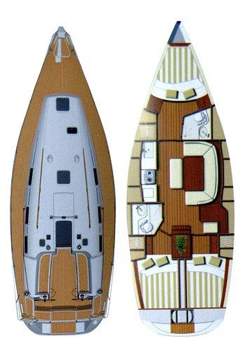 Boat for rent Dufour Yachts 38.0 feet in Marina Mandalina, Sibenik, Croatia